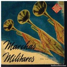 Discos de vinilo: MARCHAS MILITARES - MARCHAS ALEMANAS - EP 1958. Lote 222457298