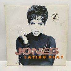 Discos de vinilo: JACKIE JONES ?– LATINO BEAT - 1995. Lote 222458773