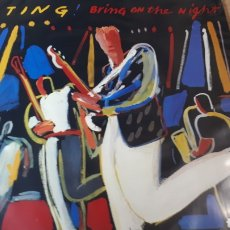 Discos de vinilo: STING BRING ON THE NIGHT DOBLE LP EN DIRECTO. Lote 222460388