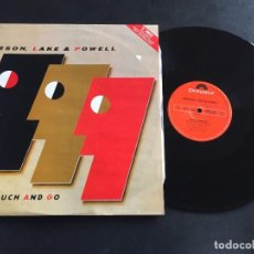 "Discos de vinilo: EMERSON, LAKE & POWELL TOUCH AND GO - MAXI SINGLE 12"" UK. Lote 222460470"