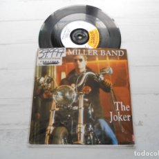 Discos de vinilo: STEVE MILLER BAND ‎– THE JOKER SINGLE UK 1990 EX/EX. Lote 222460480
