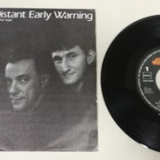 "Discos de vinilo: 1020- RUSH DISTANT EARLY WARNING ALERTA ROJA - VIN 7"" POR VG DIS NM. Lote 222460548"