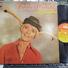 Discos de vinilo: ANNIE CORDY A L'OLYMPIA FRANCIA 1975 CARPETA DOBLE. Lote 222460992