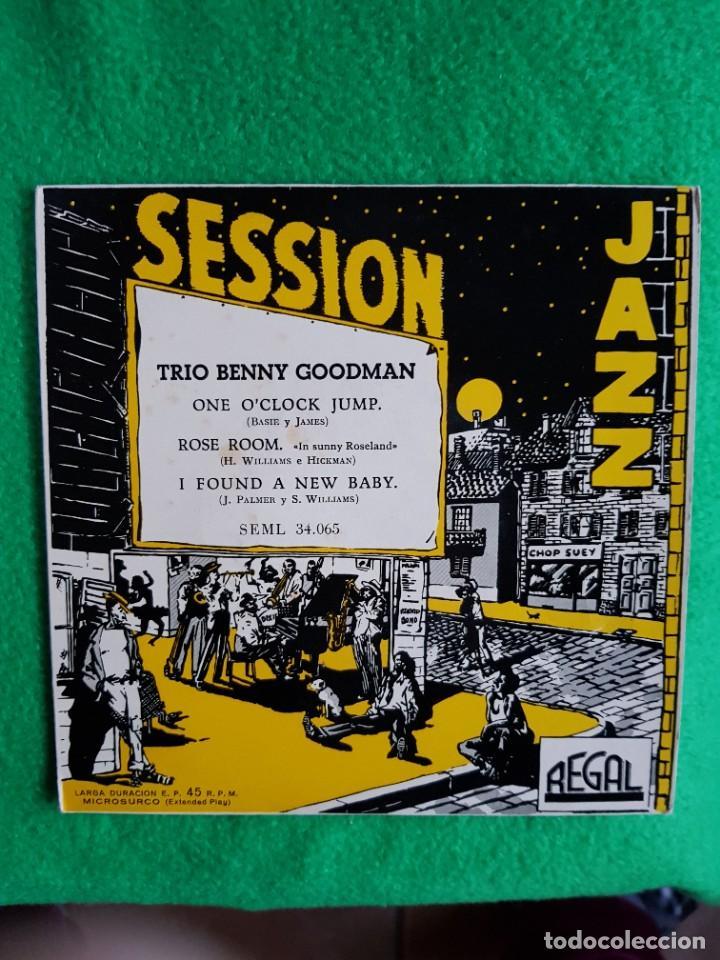 BENNY GOODMAN TRIO JAZZ EP REGAL EXCELENTE ESTADO OPORTUNIDAD COLECCIONISTAS (Música - Discos de Vinilo - EPs - Jazz, Jazz-Rock, Blues y R&B)