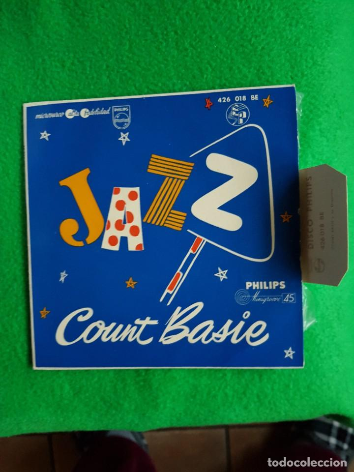 JAZZ COUNT BASIE EP SPAIN EXCELENTE ESTADO OPORTUNIDAD COLECCIONISTAS (Música - Discos de Vinilo - EPs - Jazz, Jazz-Rock, Blues y R&B)