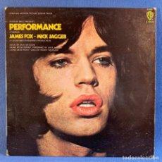 Discos de vinilo: LP - VINILO PERFORMANCE - JAMES FOX & MICK JAGGER - ESPAÑA - 1978. Lote 222463475