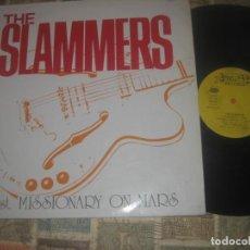 Discos de vinilo: THE SLAMMERS, 1:ST MISSIONARY ON MARS, ROMILAR-D-1989 OG ESPAÑA. Lote 222464977