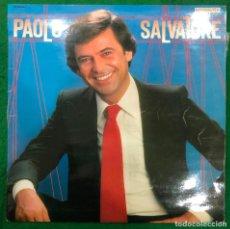 Discos de vinilo: PAOLO SALVATORE LP DE 1982 RF-8732 , BUEN ESTADO. Lote 222465726