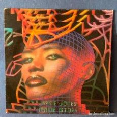 Discos de vinilo: LP - VINILO GRACE JONES - INSIDE STORY + ENCARTE - ESPAÑA - AÑO 1986. Lote 222467550