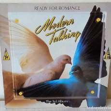 Discos de vinilo: MODERN TALKING - READY FOR ROMANCE- THR 3RD ALBUM ARIOLA - 1986. Lote 222468028