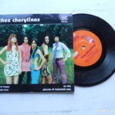 Discos de vinilo: THEE CHERYLINAS – WE WERE HAPPY E.P MOD REVIVAL 1996 NM/NM. Lote 222469306