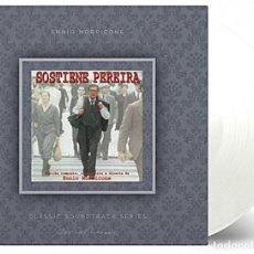 Discos de vinilo: ENNIO MORRICONE – SOSTIENE PEREIRA BANDA SONORA ORIGINAL LTD 180G VINILO TRANSPARENTE LP PRECINTADO. Lote 222471227
