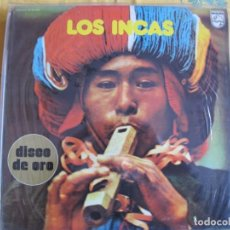 Discos de vinilo: LP - LOS INCAS - DISCO DE ORO (SPAIN, PHILIPS 1973). Lote 222471897