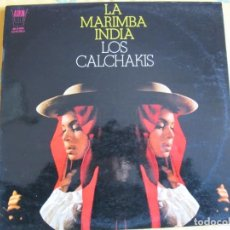 Discos de vinilo: LP - LOS CALCHAKIS - LA MARIMBA INDIA (SPAIN, DISCOS ARION 1970). Lote 222472881