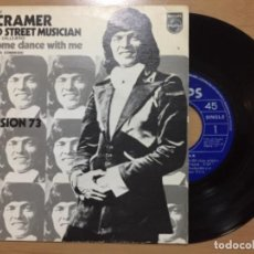 Discos de vinilo: BEN CRAMER. THE OLD STREET MUSICIAN (VINILO SINGLE 1973). Lote 222479325