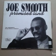 Discos de vinilo: JOE SMOOTH - PROMISED LAND MAXI SINGLE 1989 EDICION ESPAÑOLA. Lote 222479702