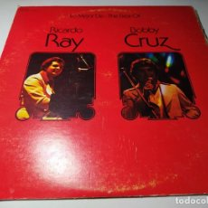Discos de vinilo: LP - RICARDO RAY, BOBBY CRUZ ?– LO MEJOR DE - THE BEST OF - JMVS-65 ( VG / VG) US 1977. Lote 222481672