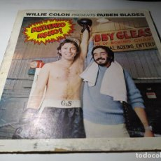 Discos de vinilo: LP - WILLIE COLON PRESENTS RUBEN BLADES ?– METIENDO MANO! - SLP 00500 ( G+ / G) US 1977. Lote 222482555