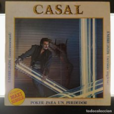 """Discos de vinilo: CASAL - POKER PARA UN PERDEDOR / EMBRUJADA (12"""", MAXI). Lote 222483763"""