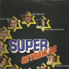 Discos de vinilo: SUPER ESTRELLAS 1977. Lote 222488647