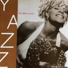 Discos de vinilo: YAZZ - WHERE HAS HALL THE LOVE GONE?. Lote 222494663