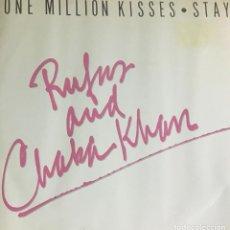 Discos de vinilo: RUFUS AND CHAKA KHAN - ONE MILLION KISSES. Lote 222495033