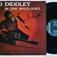 """Discos de vinilo: BO DIDDLEY - """" IN THE SPOTLIGHT """" LP 1ST PRESSING 1960 USA. Lote 222496760"""