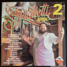 Discos de vinilo: SPAGHETTI MIX 2 - DOBLE LP - 1993. Lote 222496960
