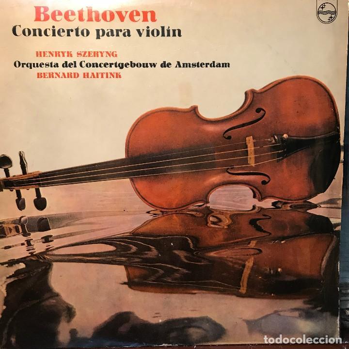 LP ARGENTINO DE LA ORQUESTA DEL CONCERTGEBOUW DE AMSTERDAM AÑO 1975 (Música - Discos - LP Vinilo - Clásica, Ópera, Zarzuela y Marchas)