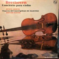 Discos de vinilo: LP ARGENTINO DE LA ORQUESTA DEL CONCERTGEBOUW DE AMSTERDAM AÑO 1975. Lote 222497798