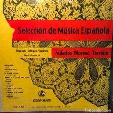 Discos de vinilo: LP ARGENTINO DE LA ORQUESTA SINFÓNICA ESPAÑOLA AÑO 1951. Lote 222498295