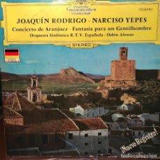 Discos de vinilo: LP ARGENTINO DE NARCISO YEPES AÑO 1971. Lote 222500495