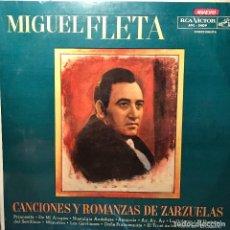 Discos de vinilo: LP ARGENTINO Y RECOPILATORIO DE MIGUEL FLETA AÑO 1961. Lote 222501022