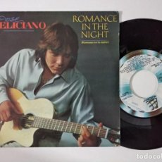 Disques de vinyle: JOSÉ FELICIANO - ROMANCE IN THE NIGHT - SINGLE MOTOWN SPAIN 1984. Lote 222501710