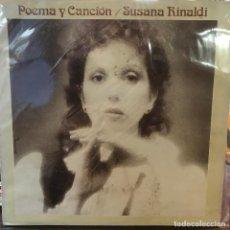 Discos de vinilo: LP ARGENTINO DE SUSANA RINALDI AÑO 1983. Lote 222502610