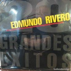 Discos de vinilo: LP ARGENTINO Y RECOPILATORIO DE EDMUNDO RIVERO AÑO 1985. Lote 222502715