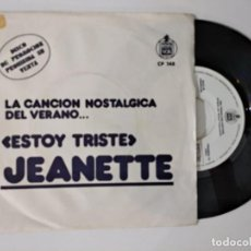 Discos de vinilo: JEANETTE - ESTOY TRISTE -SINGLE PROMO 1972. Lote 222503118