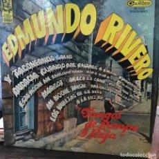 Discos de vinilo: LP ARGENTINO DE EDMUNDO RIVERO AÑO 1966. Lote 222503510