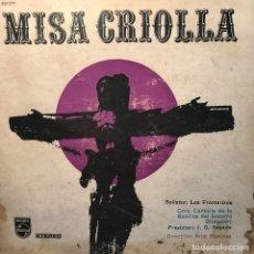 Discos de vinilo: LP ARGENTINO MISA CRIOLLA AÑO 1964 EDICIÓN ESTEREO. Lote 222504020