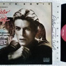 """Discos de vinilo: DAVID BOWIE - """" PETER AND THE WOLF """" LP + INNER ORIGINAL 1ST PRESSING USA 1978. Lote 222504296"""
