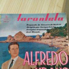 Discos de vinilo: ALFREDO KRAUS, TARANTELA, 7 PULGADAS. Lote 222504305