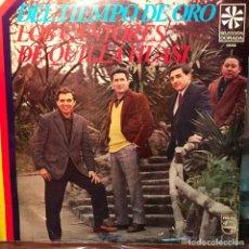 Discos de vinilo: LP ARGENTINO Y RECOPILATORIO DE LOS CANTORES DE QUILLA HUASI AÑO 1968. Lote 222505253