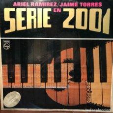 Discos de vinilo: LP ARGENTINO DE ARIEL RAMÍREZ Y JAIME TORRES AÑO 1972 EDICIÓN ORIGINAL. Lote 222505672