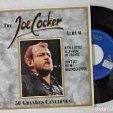Discos de vinilo: JOE COCKER – WITH A LITTLE HELP FROM MY FRIENDS / SINGLE 1992. Lote 222505945