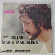 "Discos de vinilo: JUAN PARDO MARIA MAGDALENA/MY GUITAR 7"" SINGLE 1978 MARFER PROMO. Lote 222505998"
