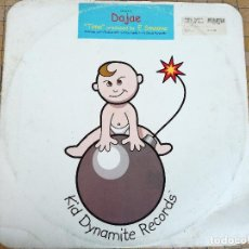 Discos de vinilo: DAJAE MUSICA ELECTRONICA HOUSE TIME (E-SMOOVE'S DUBTIME) REMIX JOSH THE FUNKY AÑO 2000. Lote 222506801