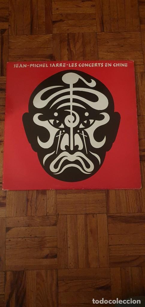 JEAN-MICHEL JARRE – LES CONCERTS EN CHINE SELLO: DISQUES DREYFUS – FDM 18110 FORMATO: 2 × VINYL+ (Música - Discos - LP Vinilo - Electrónica, Avantgarde y Experimental)
