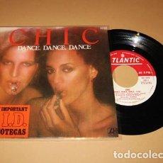 Discos de vinilo: CHIC - DANCE, DANCE, DANCE - SINGLE - 1977. Lote 222512377