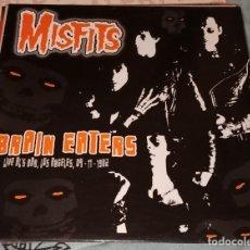 """Discos de vinilo: MISFITS: BRAIN EATERS LP 12"""" LIVE LOS ÁNGELES 1982. Lote 222512832"""