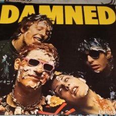 "Discos de vinilo: THE DAMNED: LP 12"" VINILO COLOR AZUL. Lote 222512900"